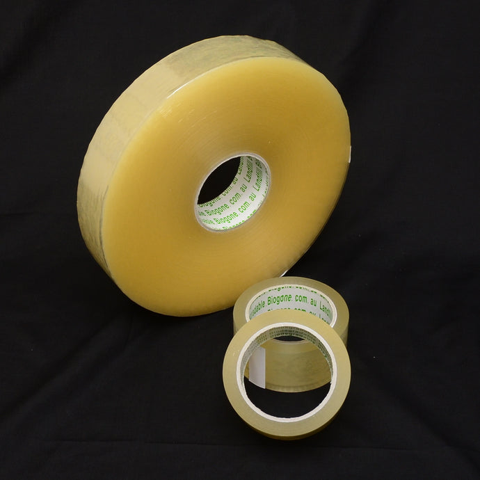 Landfill Biodegradable Packing Tape Machine Rolls