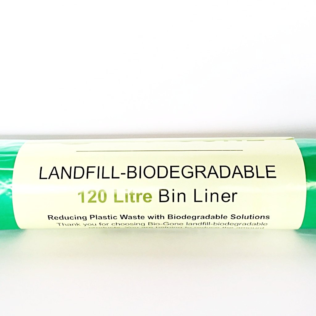120 Litre (X-Large) Landfill Biodegradable Garbage Bags (Wholesale available)