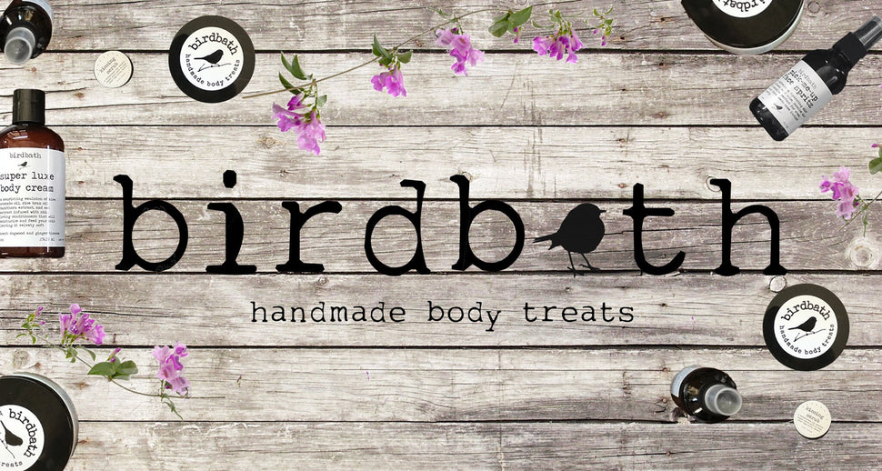 birdbath body treats