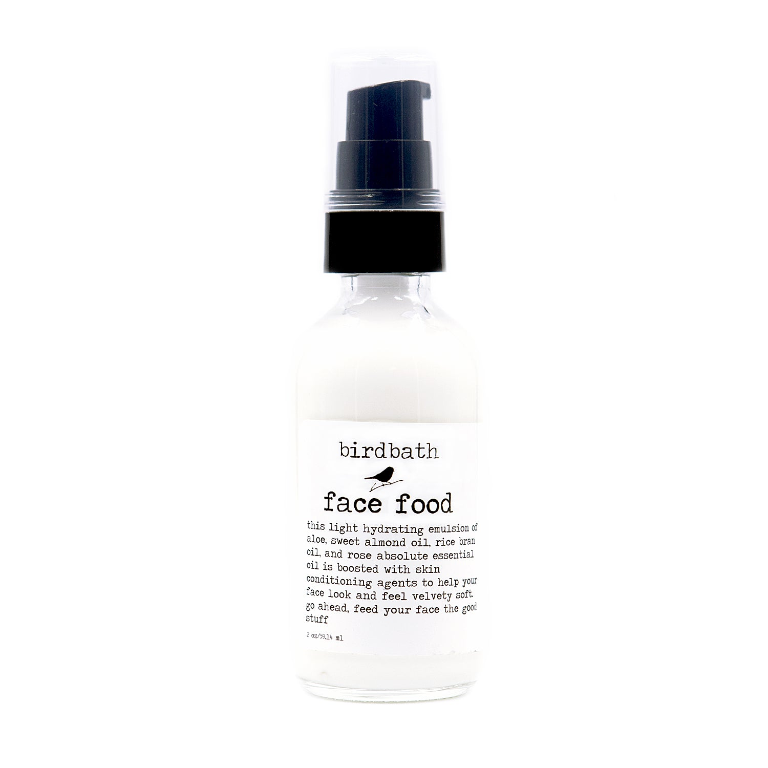 Face Food - birdbath body treats