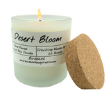 Coconut Wax Wood Wick Candle 8.5 oz. Frosted