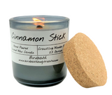 Holiday Coconut Wax Wood Wick Candle 8.5 oz. Smoke Grey