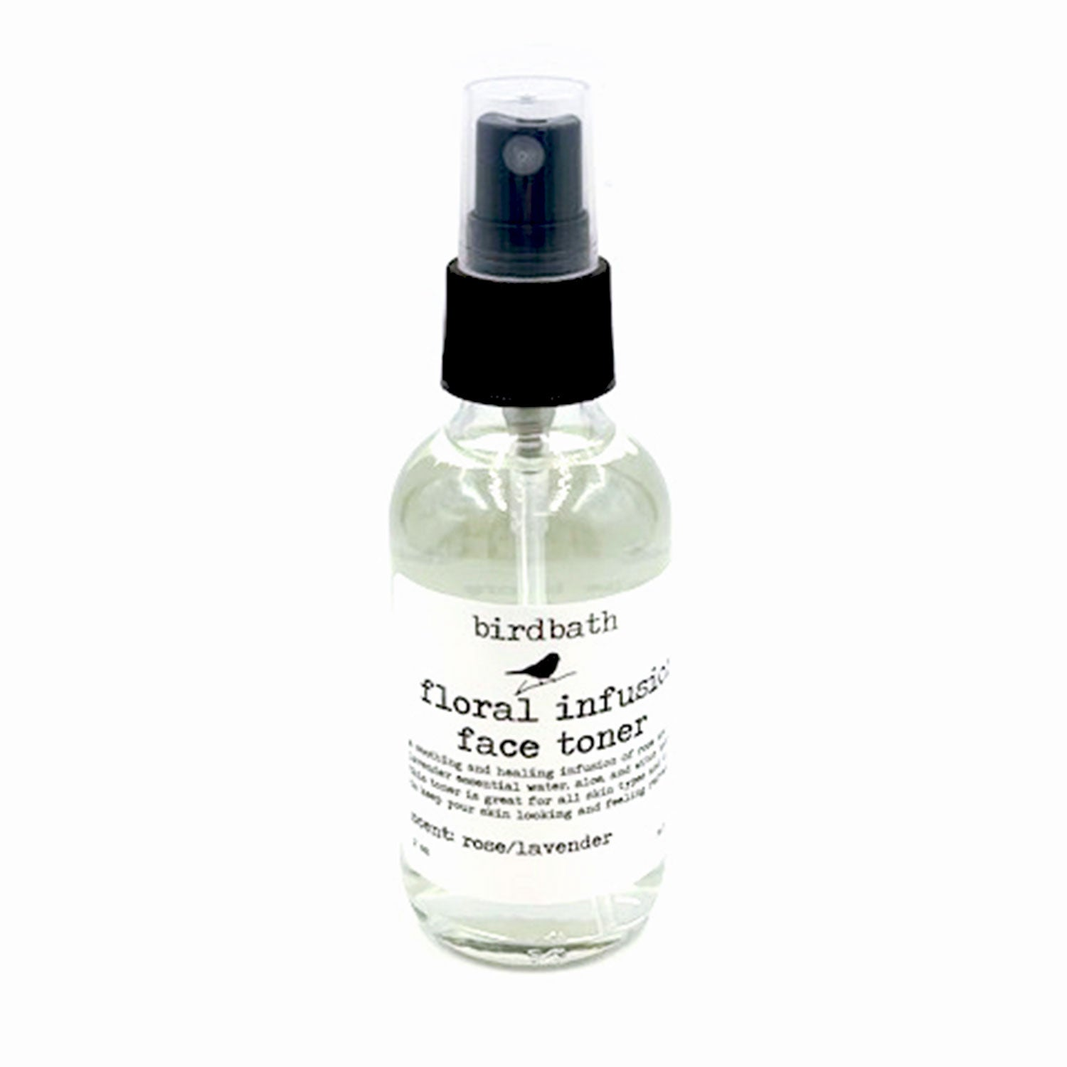 Floral Infusion Face Toner - birdbath body treats