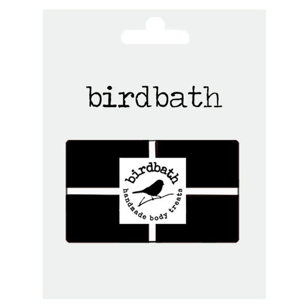 Gift Card - birdbath body treats