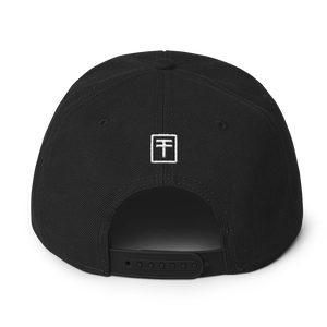 TYPE Snapback Hat - BLACK | TYPE Hats