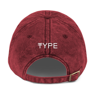 Vintage Swag Dad Hat - Red | TYPE Hats