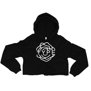 TYPE Rose Crop Top Hoodie | TYPE Hats