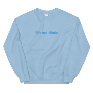 Bésame Mucho Sweatshirt - Light Blue