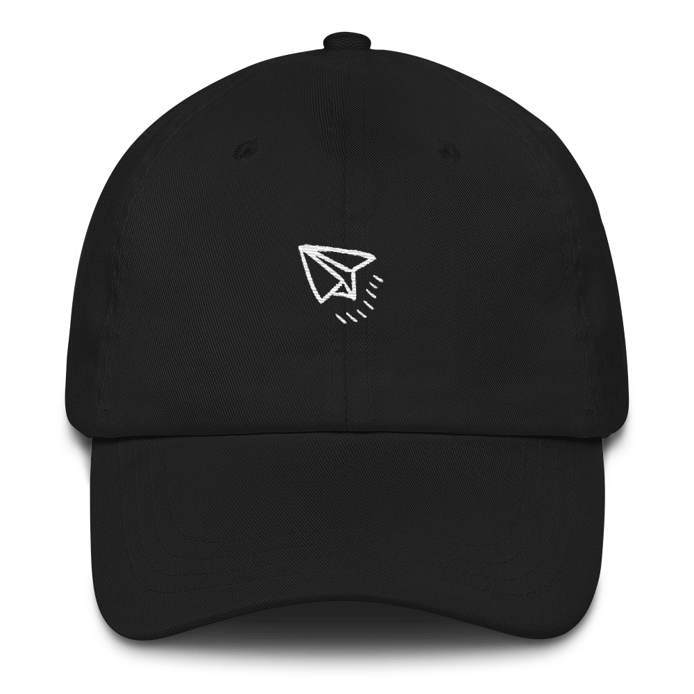 Fly High Dad Hat - Black | TYPE Hats
