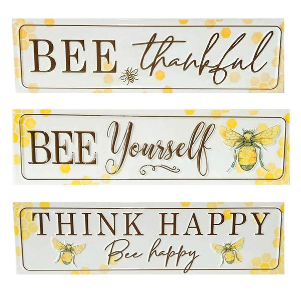 Bee Sayings Wall Signs