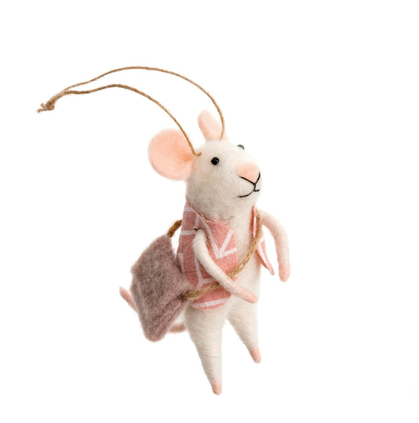 Wandering Will Felt Mouse