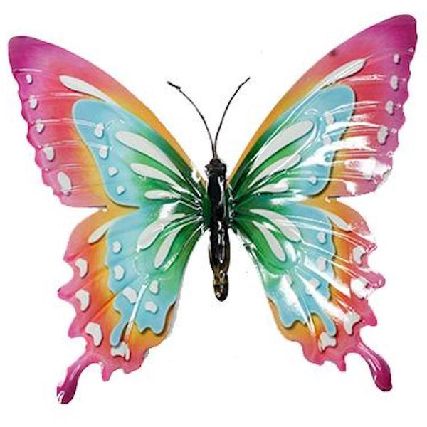 Metal Butterfly Wall Decor - Large