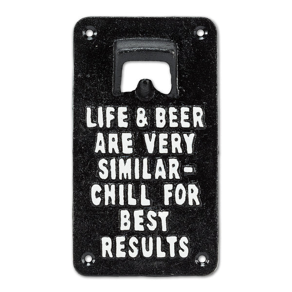 Life & Beer Opener - Flamingo Boutique