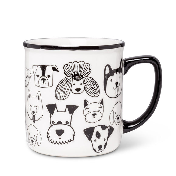 Dog Faces Mug - Flamingo Boutique