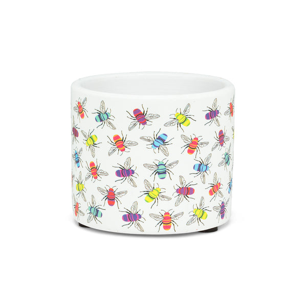 Multicolour Bee Planter - Flamingo Boutique