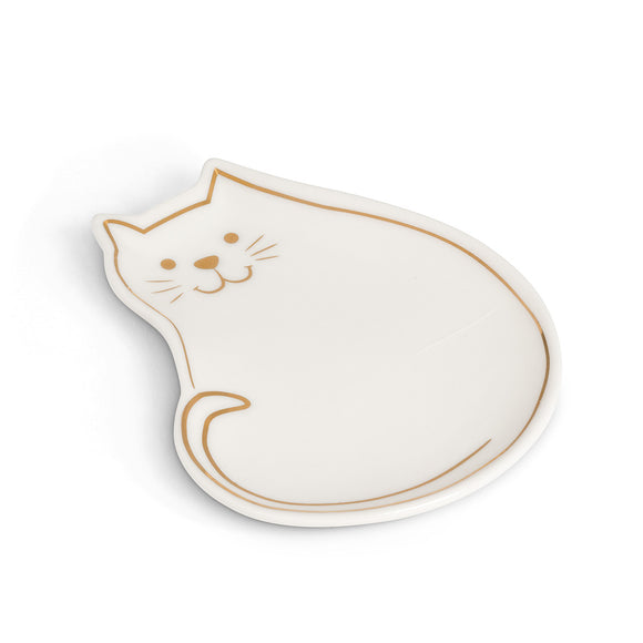 Cat Trinket Dish - Flamingo Boutique