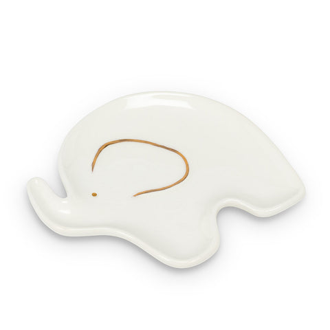 Elephant Trinket Dish - Flamingo Boutique