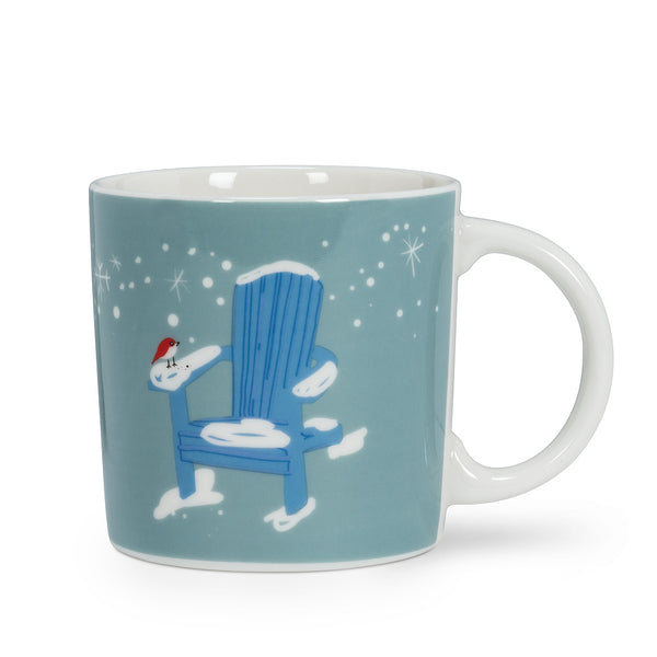 Chair In Snow Mug - Flamingo Boutique