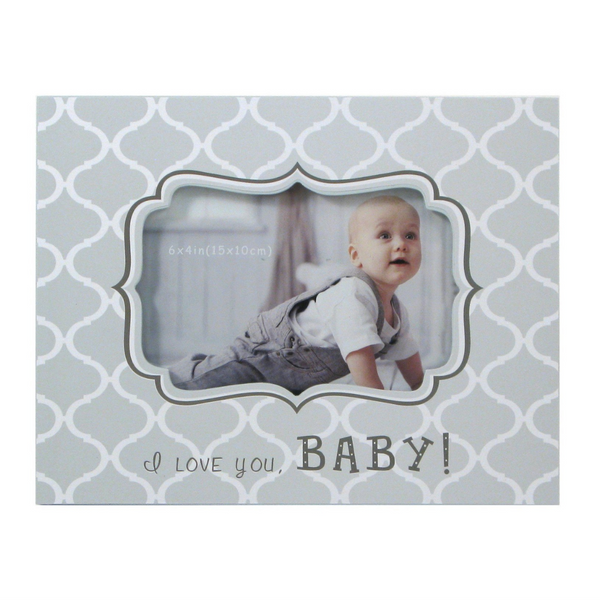 'I Love You Baby' Picture Frame - Flamingo Boutique