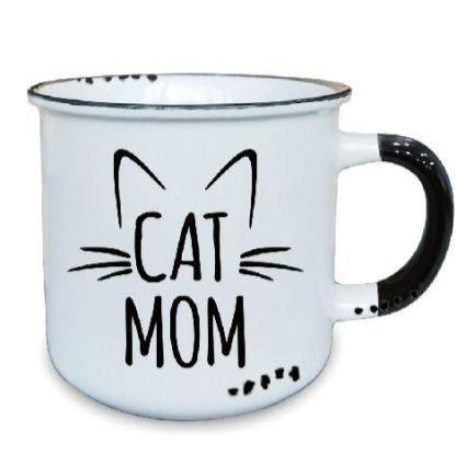 Cat Mom - Ceramic Mug