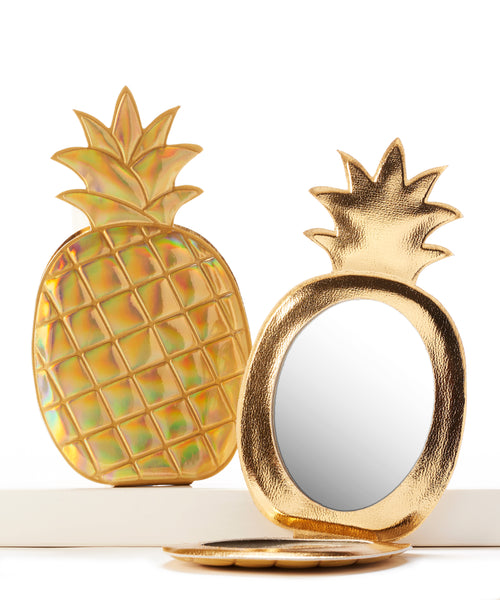 Pineapple Compact Mirror - Flamingo Boutique