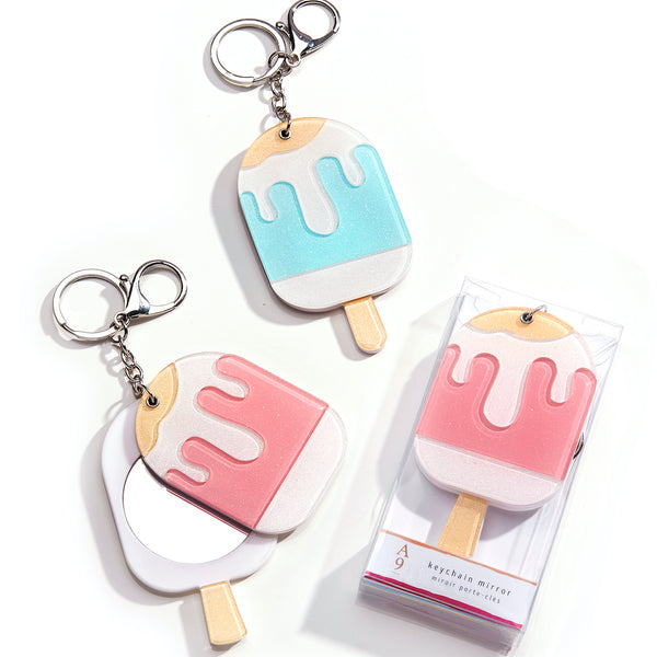 Popsicle Keychain & Mirror