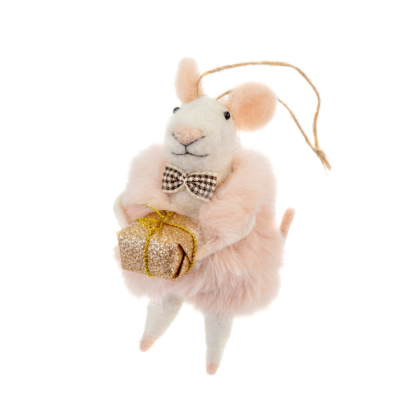 Dapper Dominic Felt Mouse - Flamingo Boutique