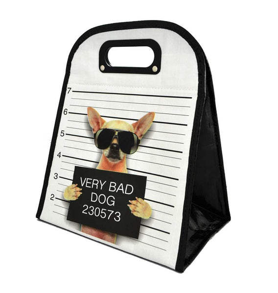Very Bad Dog Lunch Bag