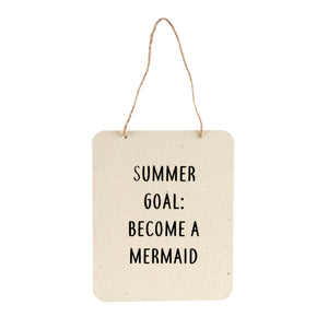 Summer Goal Sign - Flamingo Boutique