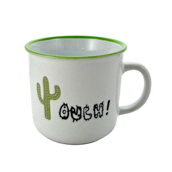 Cactus 'Ouch'  Mug - Flamingo Boutique