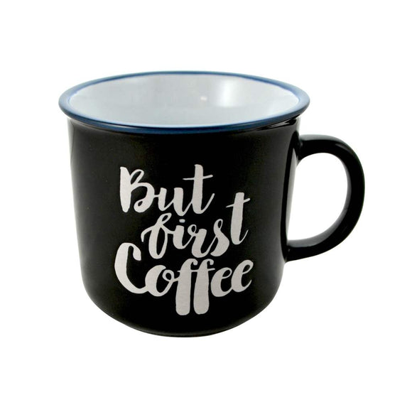 But First Coffee Mug - Flamingo Boutique