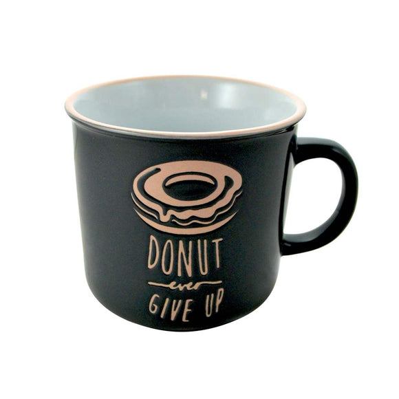 'Donut Give Up'  Mug - Flamingo Boutique