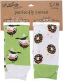 Coffee & Donuts Socks - Flamingo Boutique