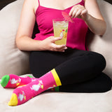 Pina Colada Girl Socks - Flamingo Boutique