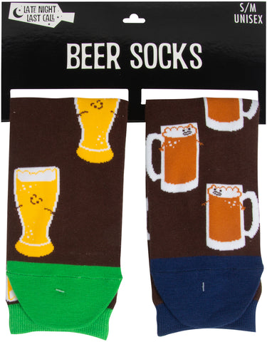 Beer Socks - Flamingo Boutique