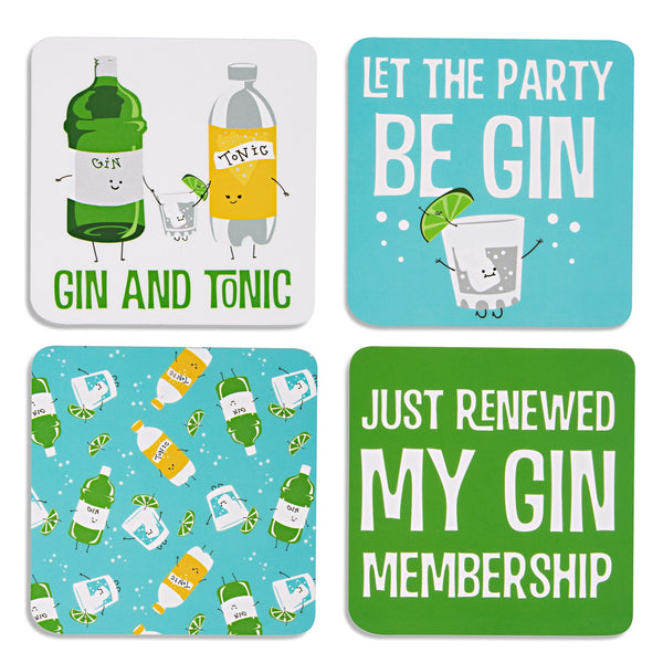Gin & Tonic Coasters