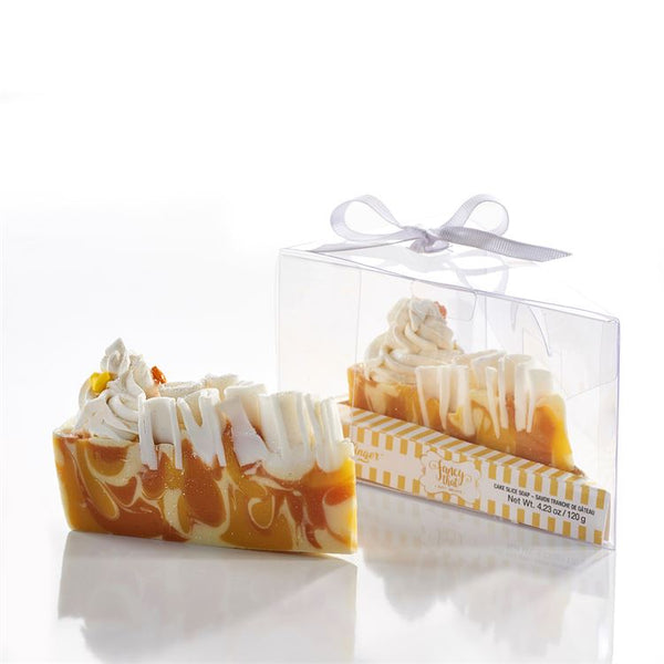 Orange Ginger Cake Slice Soap - Flamingo Boutique