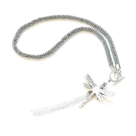 Short Dragonfly Necklace