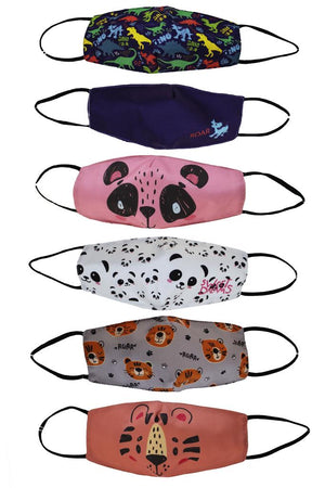Kids Fun Animal Face Mask - Flamingo Boutique