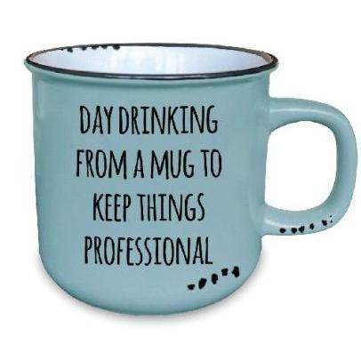 Day Drinking -Ceramic Mug - Flamingo Boutique