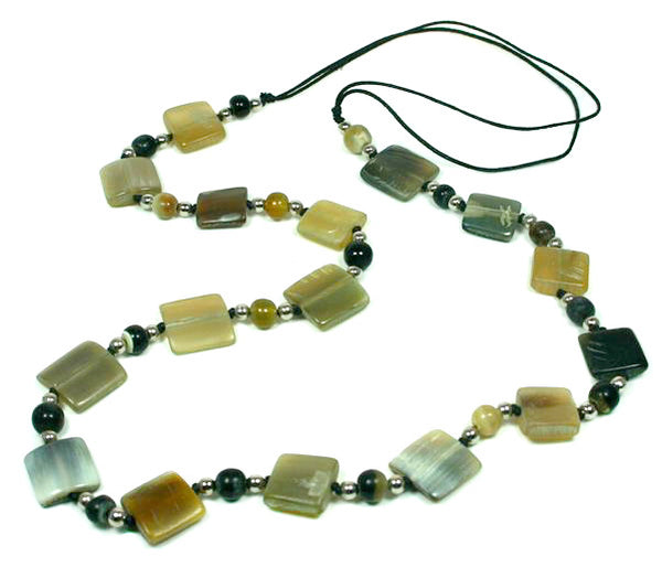 Square Horn Necklace