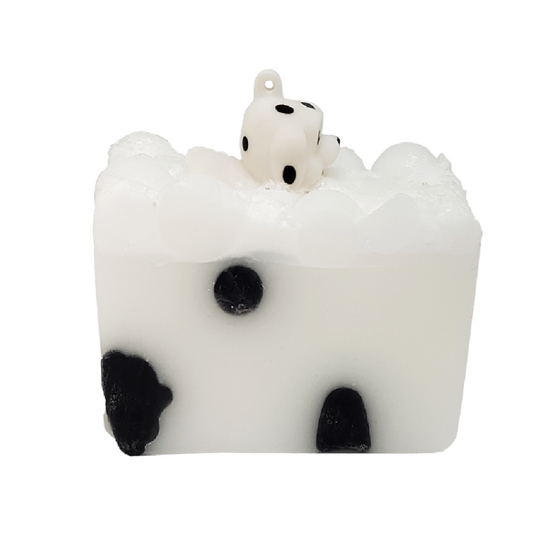 Puppy Love Soap Slice