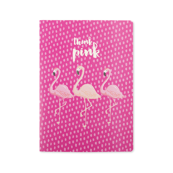 Think Pink - Flamingo Notebook - Flamingo Boutique