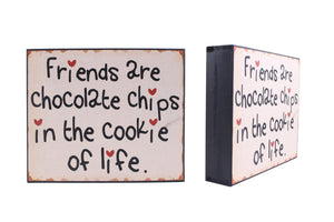 Friends - Cookies Sign - Flamingo Boutique