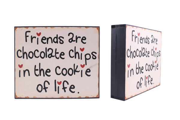 'Friends - Cookies' Sign