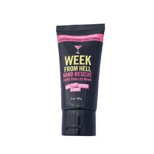 Week From Hell Hand Cream Tube - Flamingo Boutique