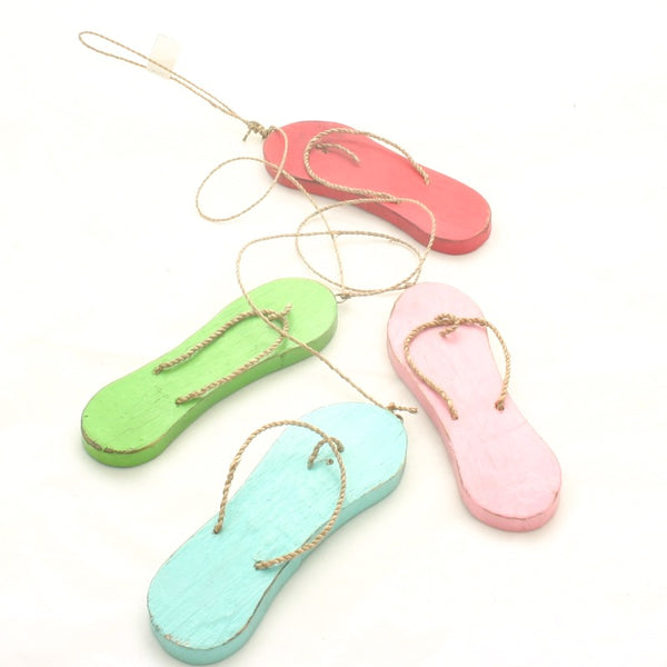 Hanging Flip Flop Garland - Flamingo Boutique