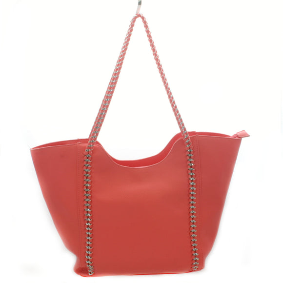 Coral Handbag - Flamingo Boutique