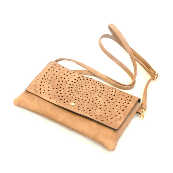 Purse With Cut Outs