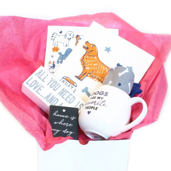 Paw-some Dog Themed Gift Box - Flamingo Boutique